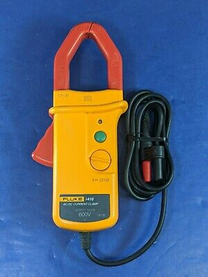 Fluke I410 Acdc Current Clamp Multimeter Accessory Very Good Condition