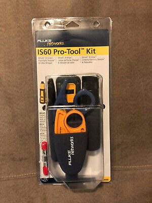 Fluke Networks 11293000 Pro-tool Kit Is60 Punch Down Tool - Brand New Sealed