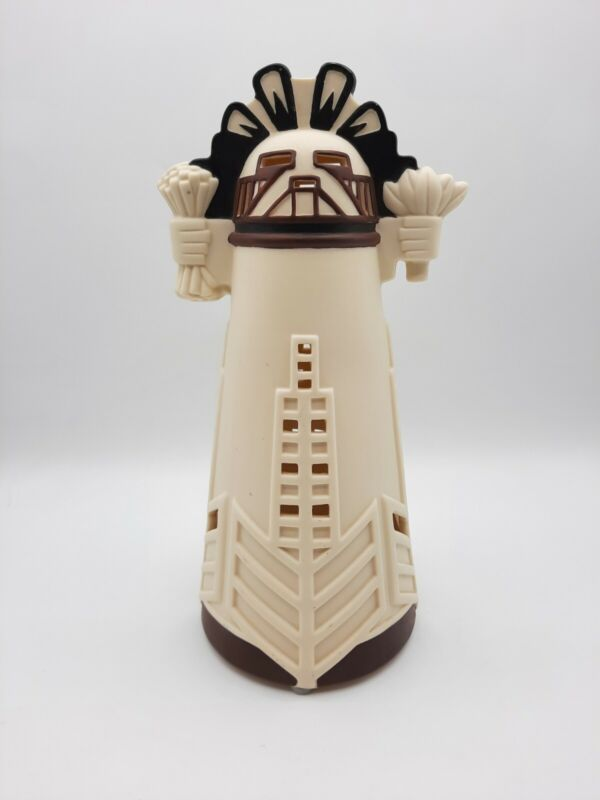 "Partylite Kachina Doll Ceramic Statue Figurine Home Decor Tealight 11"" no base"