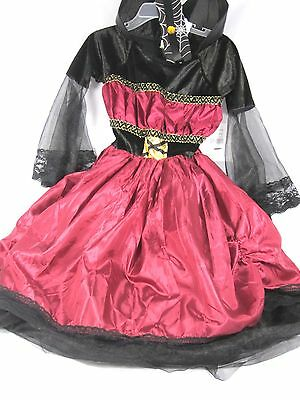 Costume Girl's Dracula Princess Vampire Halloween Sz 3 to 6 (Halloween Dracula Girl)