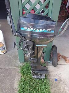 Mercury 7.5 Motor Elimbah Caboolture Area Preview