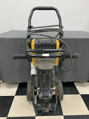 Dewalt D25980k Heavy-duty Pavement Breaker With Cart Used Free Shipping