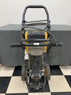 Dewalt D25980k Heavy-duty Pavement Breaker With Cart Used Free Shipping