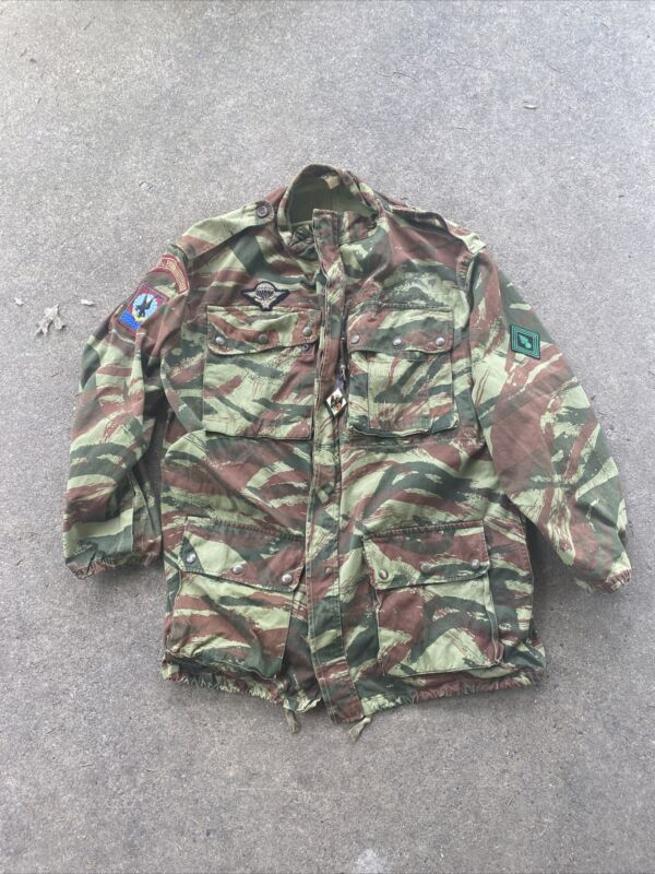 Post VN French Airborne Lizard Pattern Camo Jacket (VB2758