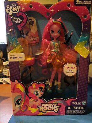 My Little Pony Equestria Girls Doll Rainbow Rocks Singing Pinkie Pie New In Box