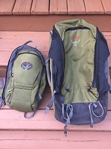 Osprey 80L travel backpack
