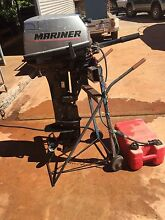 Outboard 15 HP Mariner long shaft Point Samson Roebourne Area Preview
