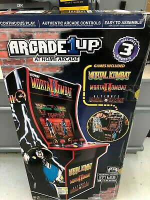 BRAND NEW IN BOX Mortal Kombat 2 Arcade Machine, Arcade1UP, 4ft *FREE SHIPPING*