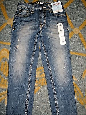 NEW Cat & Jack Skinny Stretch Adjustable Waist  blue jeans size 5