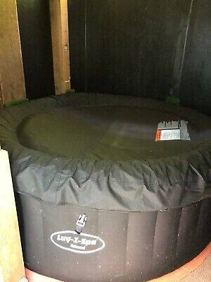 Lay-Z-Spa BW54123GB-19  2-4 Person Inflatable Miami Hot Tub