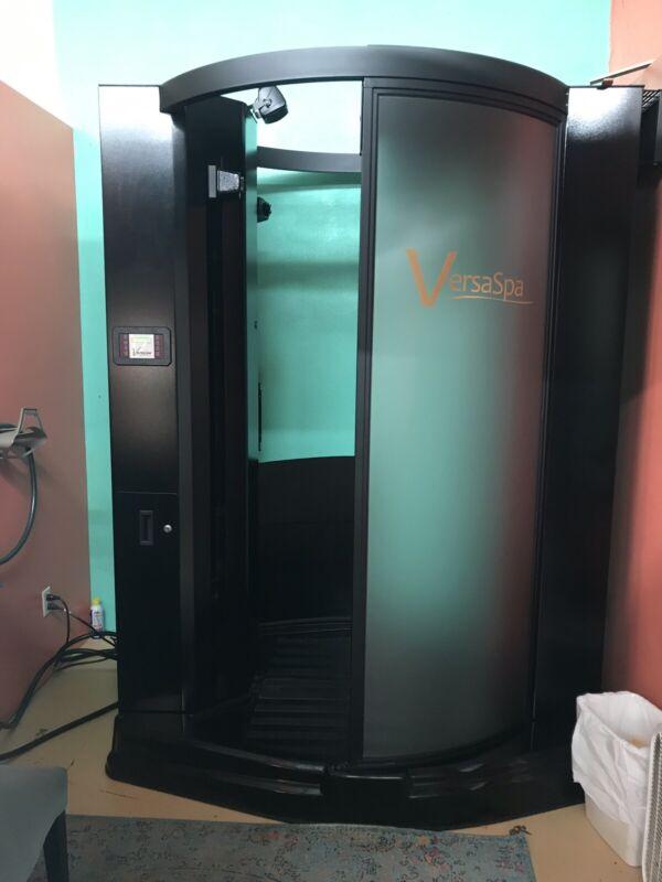 Versa Spa Spray Tanning Bed Booth UvFree Versaspa With Voice & Heat