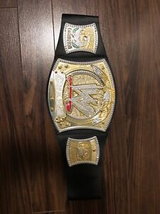 WWE Championship belt replica with spinner