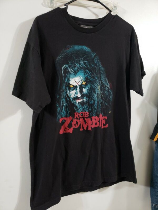 "2015 ROB ZOMBIE ""Super Monster Sex Action"" Concert Tour L Large T-Shirt"