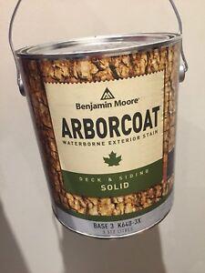 Benjamin Moore Arborcoat Solid Stain