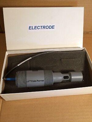 Cole-parmer Electrode Pt100 Temperature Sensor Conductivity Cell Cpvc0-10ms