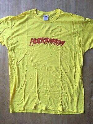 WEEN COSTUME T-SHIRT HULKAMANIA (Hulk Hogan Halloween Costume)