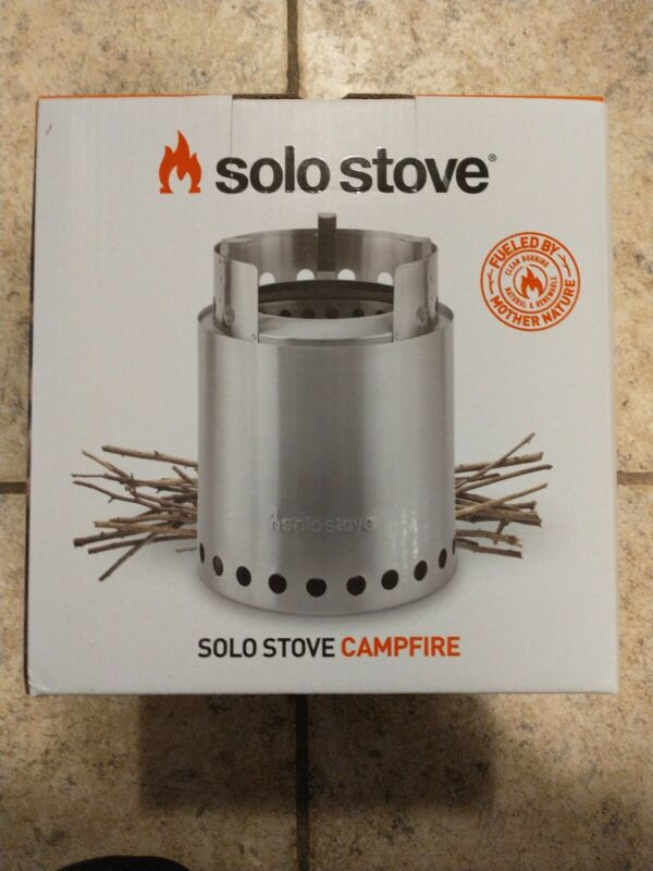 *NEW!* Solo Stove Campfire - The Ultimate Wood Burning Camp Stove
