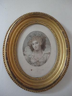 Mrs Maria Fitzherbert Wife of King George IV Rare Love Token