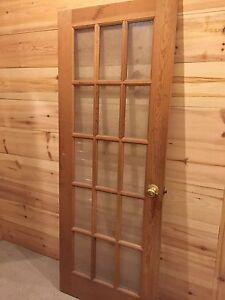 Pine door $100