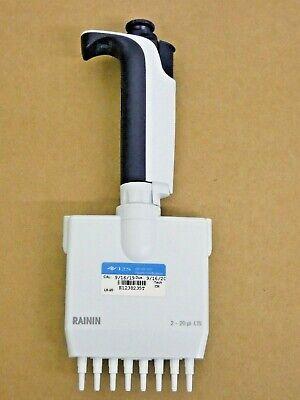 Rainin Pipet-lite Multichannel Pipette L8-20xls 8 Channel 2-20 Ul