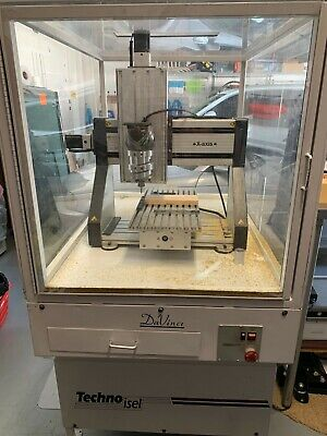 Isel-automation Cnc Milling Machine 3 14 Motor