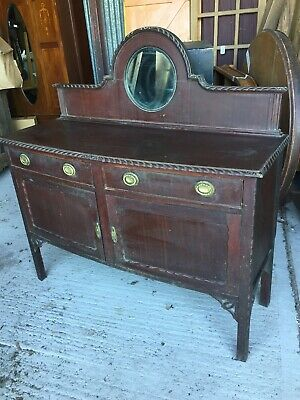 Decorative Vintage Antique  Sideboard Chiffonier Mirror Top Dresser  20/4/D/LB