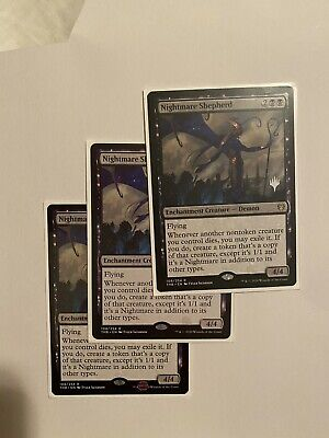 Nightmare Shepherd - X3 - Theros Beyond Death - NM-M, Ready to Ship