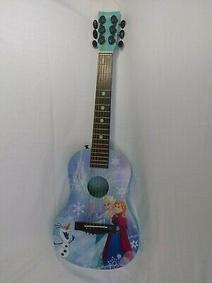 Frozen First Act Acoustic Guitar Blue