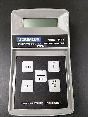 Omega 450-att Type T Thermocouple Digital Thermometer
