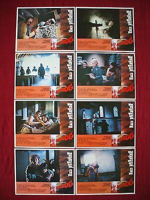 THE FOG * 1980 ORIGINAL MOVIE POSTER LOBBY CARDS COMPLETE SET KAB 1340 HALLOWEEN