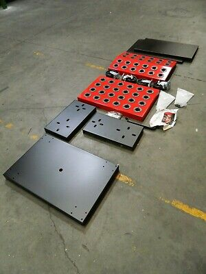 Huot 36 Tool Capacity 50 Taper Size Toolscoot Cnc Tool Cart 0976861
