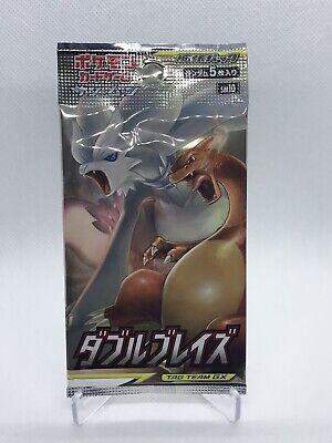 Pokemon Double Blaze sm10 Booster Pack (x4)Sun Moon Japanese Card Box US SELLER