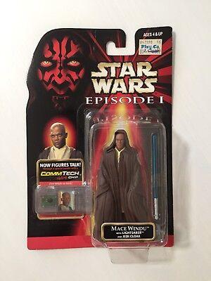 Star Wars Episode 1 MACE WINDU Ep1 New Loose