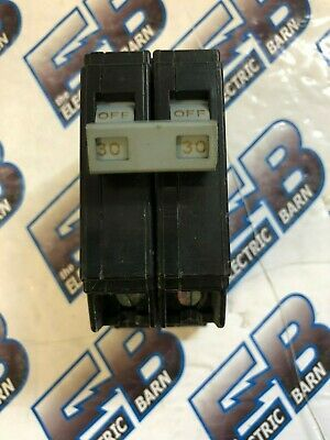 Cutler Hammer Chb230 30 Amp 240 Volt 2 Pole Bolt-on Circuit Breaker-warranty