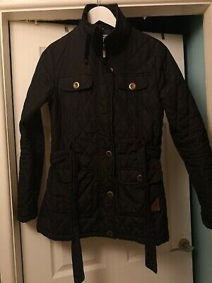 Kangol Jacket Quilted Black Size 12