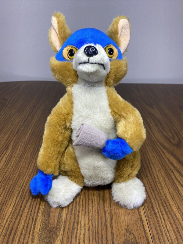 Dora and The Lost City of Gold SWIPER Plush - EXCELLENT -  Very Adorable 3+