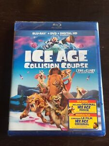 Ice Age Collision Course Blu-Ray + DVD + Digital HD