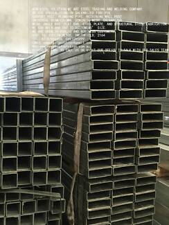 GALVANISED STEEL TUBE 150MM*50MM*2MM AS BUILDING POST,FABRICATION