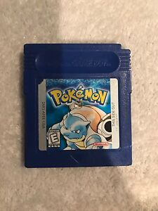 Pokemon Blue GB Cart only