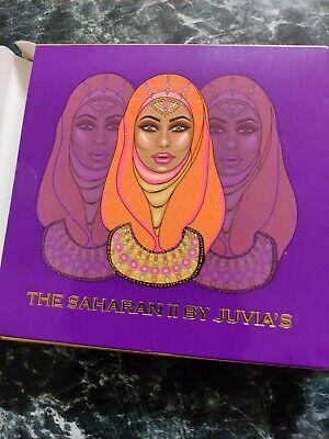 Juvia's Place The Saharan II Eyeshadow Palette - GENUINE! Same Day Dispatch!