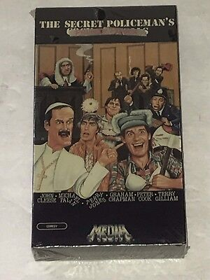 THE SECRET POLICEMAN'S PRIVATE PARTS VHS FACTORY SEALED NEW 1984 MEDIA RARE