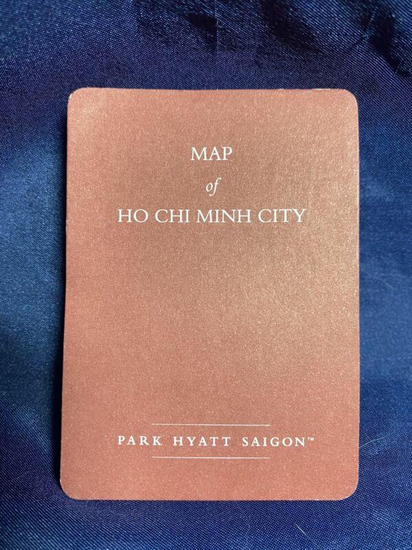VINTAGE PARK HYATT SAIGON  MAP of HO CHI MINH CITY