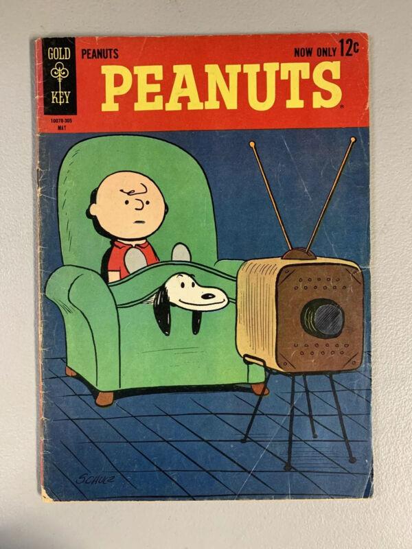 Peanuts #1 (Charlie Brown) Silver Age-Gold Key Comics