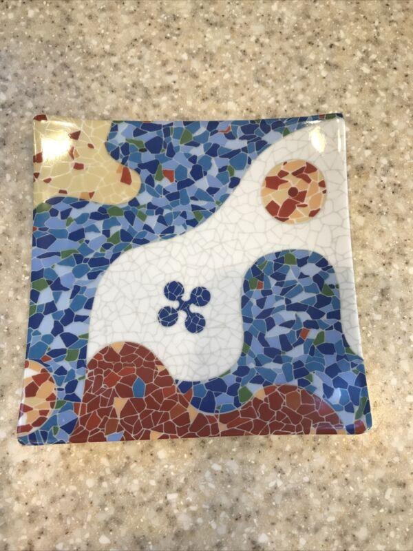 "Barcelona Antoni Gaudi 5-1/2"" Porcelain Trinket Dish"