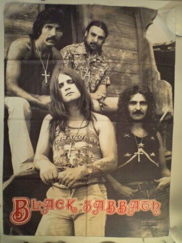 BLACK SABBATH   Unused  2003 TEXTILE POSTER FLAG     metal heavy ozzy osbourne