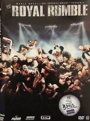 Royal Rumble 2007,  DVD,  NO Bonus Disc,