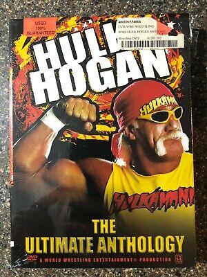 HULK HOGAN THE ULTIMATE ANTHOLOGY 4 DISC DVD WRESTLING WWF WWE