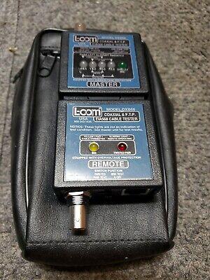 L-com Model Dxb66 Coaxial Ftp Eia568 Ethernet Dual Cable Tester - Euc
