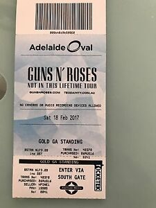 Guns N Roses Adelaide concert Glenelg Holdfast Bay Preview