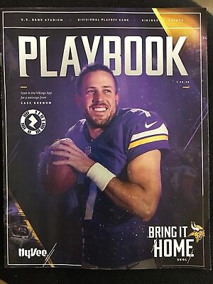 Minnesota Vikings Playbook - Minneapolis Miracle - 1/14/18 vs Saints